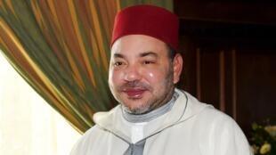 Mohammed VI, King of Morocco on June 19 2015.