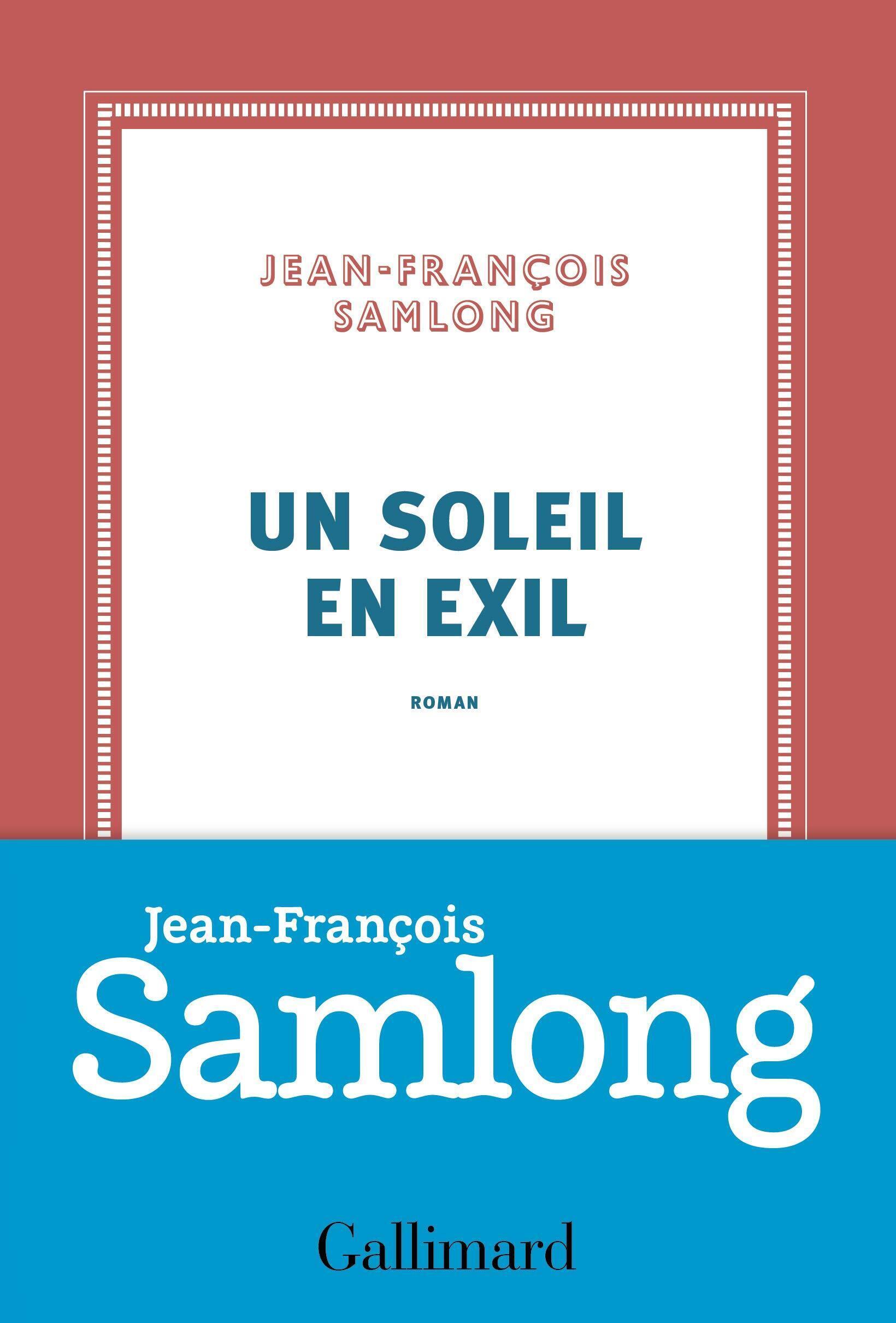 Couverture du roman de Jean-François Samlong