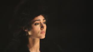 Golshifteh Farahani dans « Anna Karénine », d'après Léon Tolstoï, adaptation et mise en scène de Gaëtan Vassart.