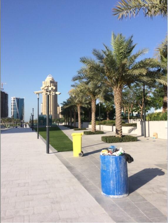 Waste collection in Qatar