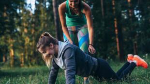 Les pompes pour renforcer les muscles des bras et des pectoraux