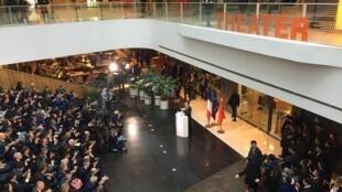 法国总统马克龙在SOHO人工智能论坛发言2018年1月9日北京