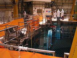 Một bể chứa chất thải phóng xạ ở Émilie-Romagne, nước Ý.