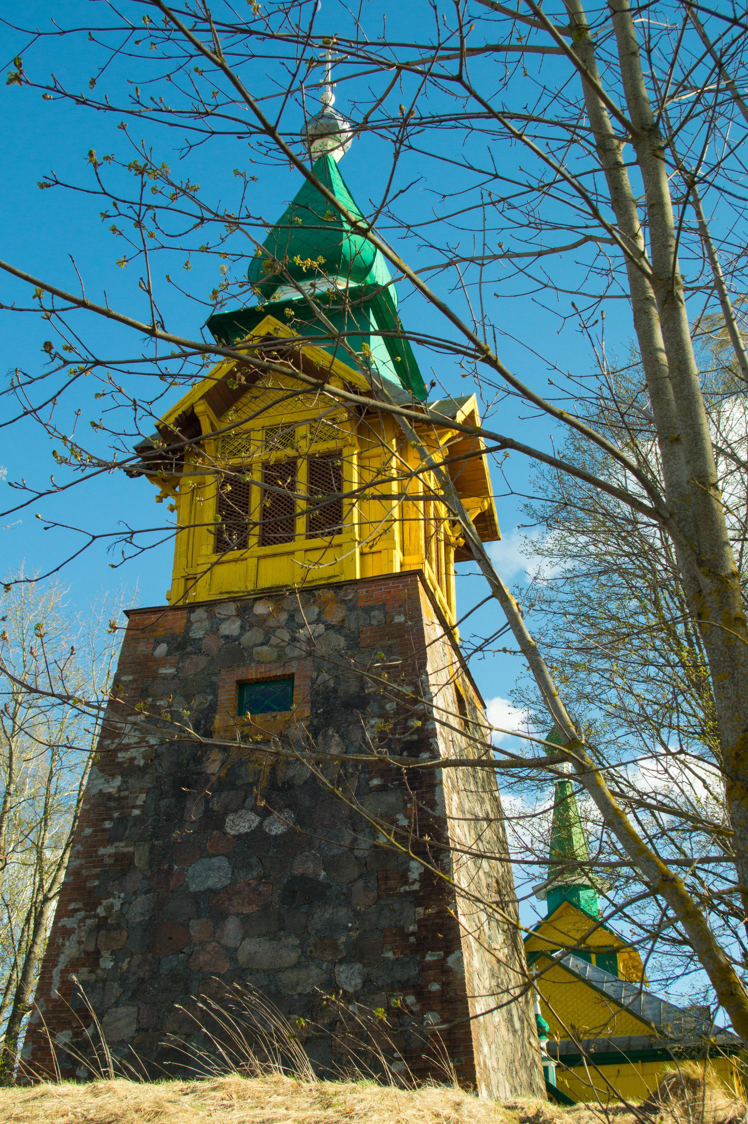 Бывшая униатская, а ныне православная Покровская церковь в Осингородке