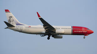 Un Boeing de la compagnie Norwegian Air