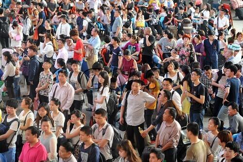 中国新的人口统计为13.68亿