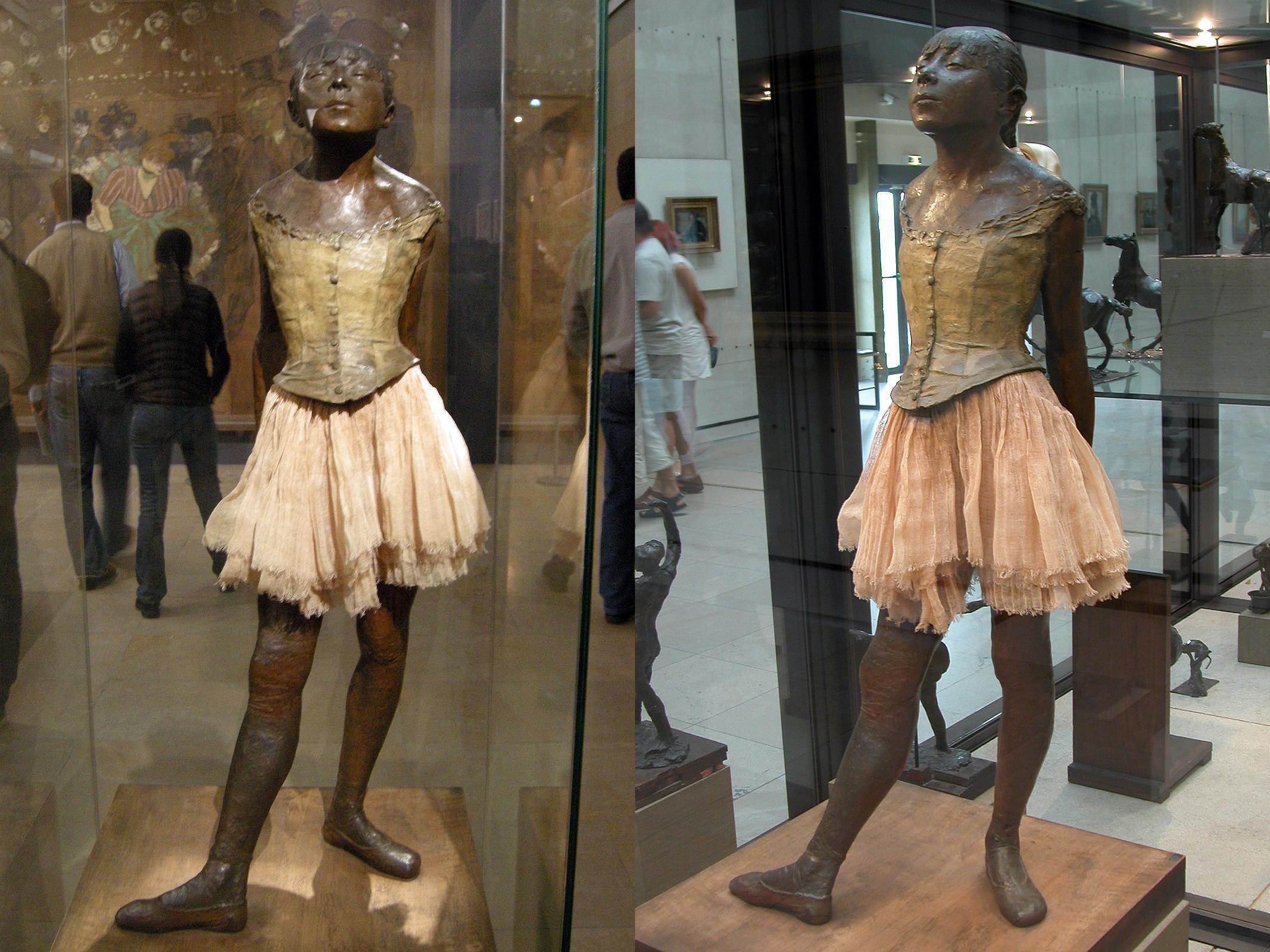 نمایشگاه ادگار دوگا، رقص، طراحی در موزه اورسی پاریس