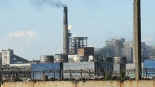 Avdiivka abrite la plus grande usine de fabrication de coke d'Europe, un dérivé du charbon nécessaire à l'industrie métallurgique.