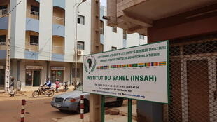 Une vue du siège de l'institut du Sahel  à Bamako, au Mali