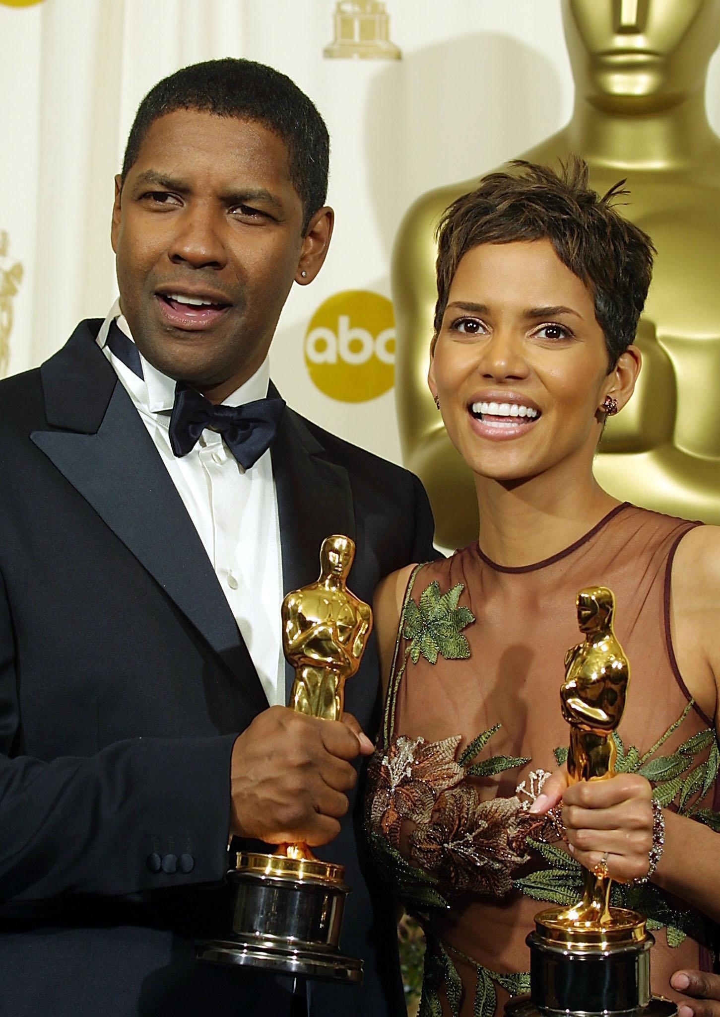 Denzel Washington («Training Day») et Halle Berry («À L'Ombre de la haine») avaient été récompensés chacun d'un Oscar en 2002.