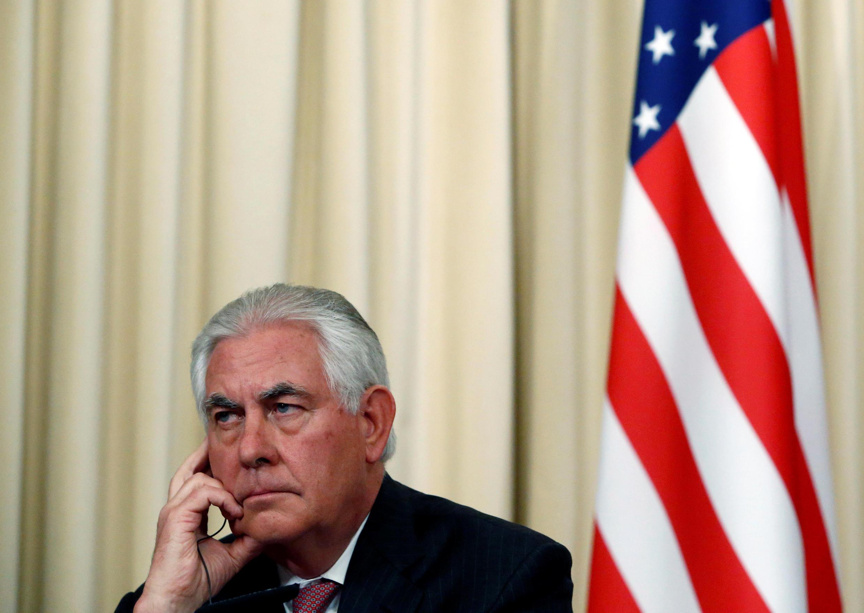 Waziri wa Mambo ya Nje wa Marekani Rex Tillerson aishtumu Iran kufanya uchokozi wa hali ya juu.