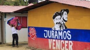 Un ex guerrillero de las FARC en Icononzo, 2 de septiembre de 2019.