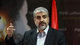 El líder de Hamas, Khaled Meshaal, en Doha, Qatar, el pasado 23 de julio de 2014.