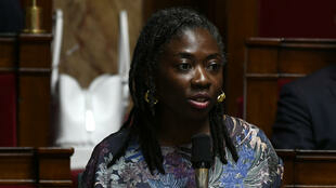 Danièle Obono, députée La France Insoumise, à l'Assemblée nationale, à Paris, le 20 juin 2018.