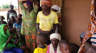 Village de Kao, dans le département de Oula, Burkina Faso.
