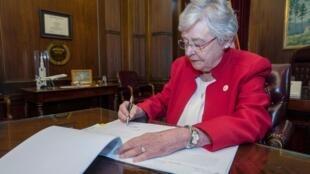 Thống đốc bang Alabama, Kay Ivey. Ảnh chụp ngày 15/03/2019 tại Montgomery, Alabama.