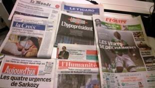 Diários franceses 01.12.2014