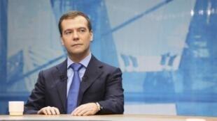 Tổng thống Dmitri Medvedev nhận thấy tham nhũng là kẻ thù số một ở Nga