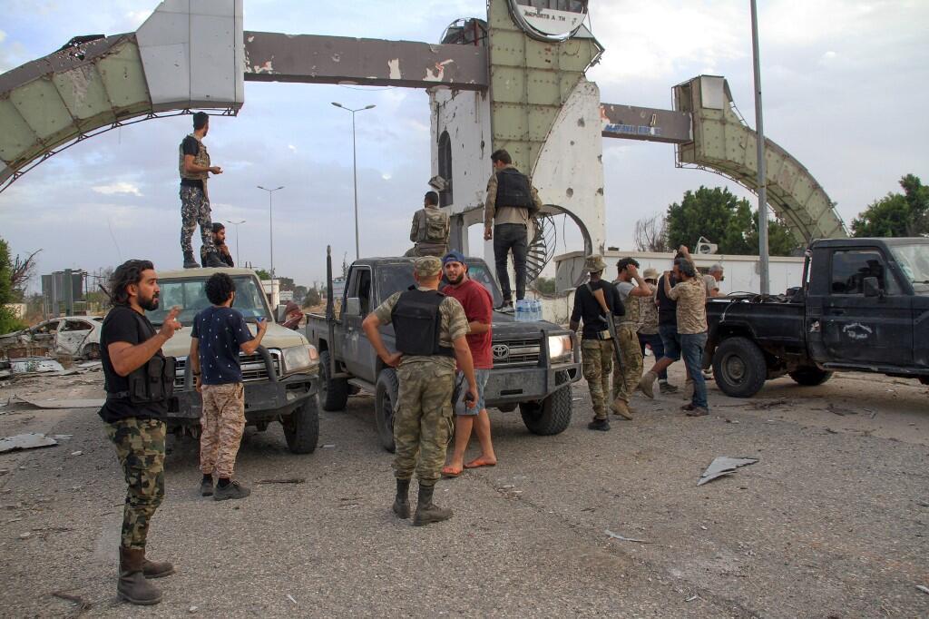 Les mercenaires étrangers combattent aux côtés du Gouvernement d'union nationale (GNA). Ici à l'aéroport international de Tripoli, le 3 juin 2020 (illustration).