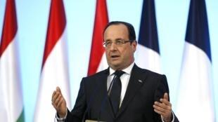 Le président François Hollande, le 6 mars 2013.