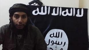 Abdelhamid Abaaoud, dans une vidéo post-mortem rendue publique en janvier 2016.