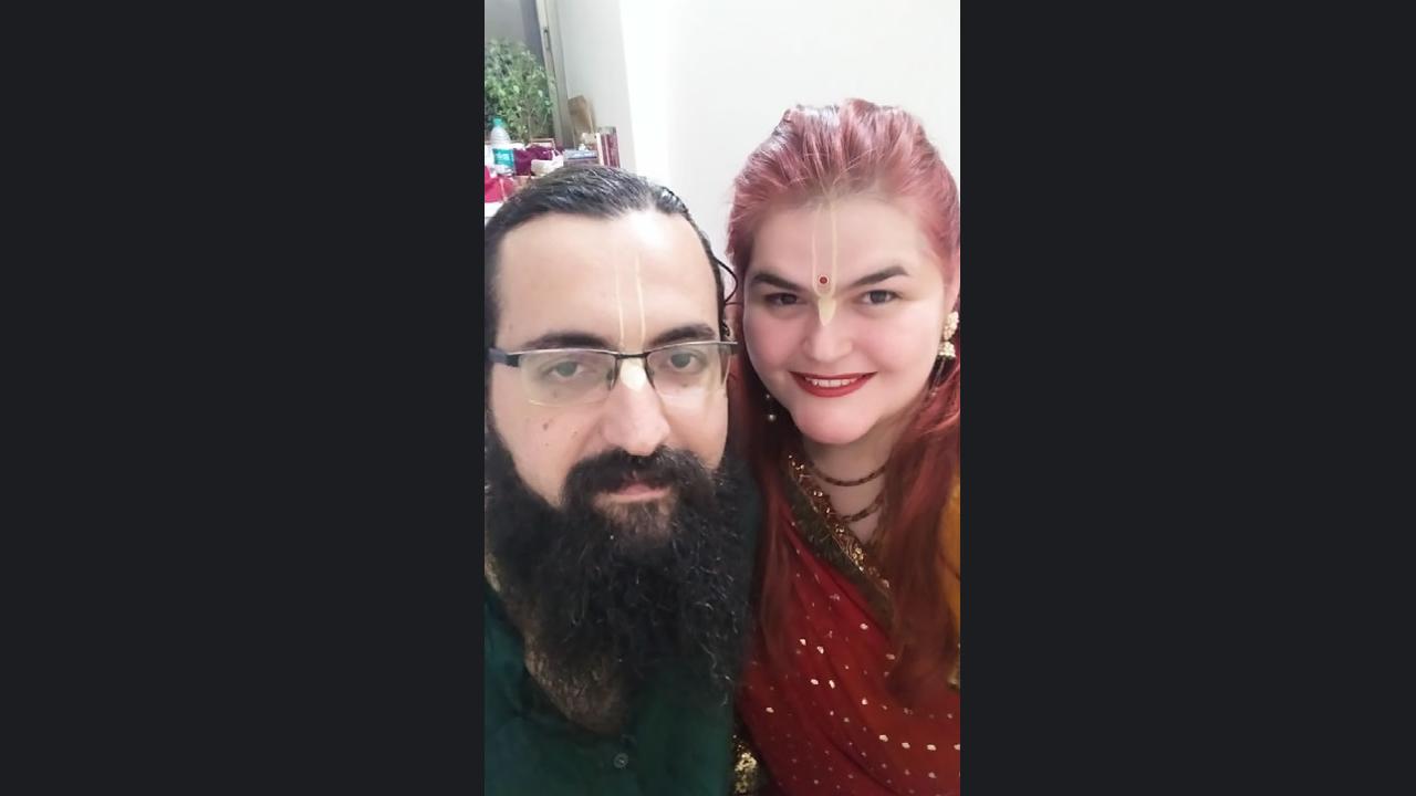 Paulista Debora Blanche Daher se mudou para a Índia com o marido dias antes do início da pandemia no país.