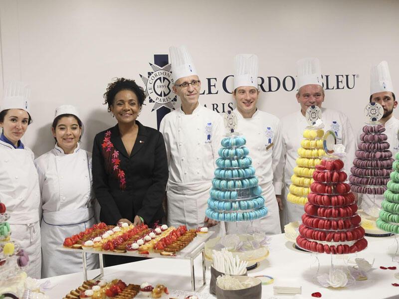 知名的法國藍帶廚藝學院(Le Cordon Bleu)