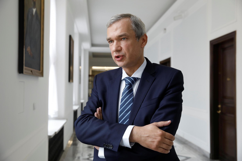 Pavel Latouchko à Varsovie, le 3 septembre 2020.