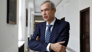 Член президиума КС белорусской оппозиции Павел Латушко