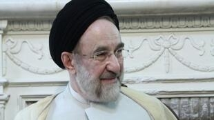 Mohammad Khatami, who was Iran's president during the 1999 student protests.
