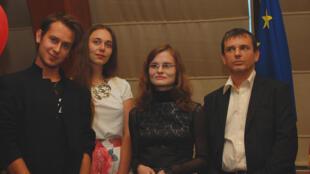Лауреаты конкурса «Мой кадр в защиту природы», организованного посольством Франции в Беларуси.