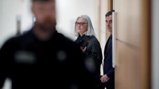 François et Penelope Fillon arrivent au tribunal de Paris le 10 mars 2020.