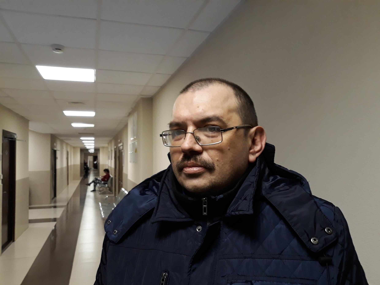 Активист движения «Солидарность» и«Альянса гетеросексуалов иЛГБТ заравноправие» Эдуард Никитин