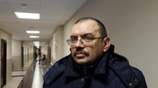Активист движения «Солидарность» Эдуард Никитин