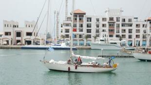 Le bassin de la marina d'Agadir.