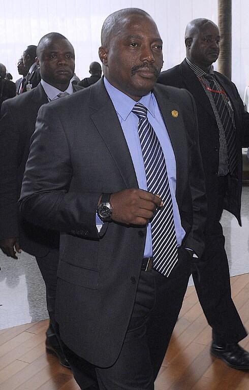 Le président de la République démocratique du Congo, Joseph Kabila.