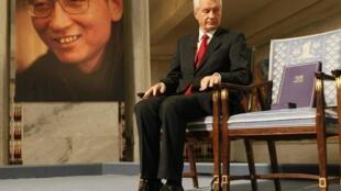 Năm 2010, Lưu Hiểu Ba được trao giải Nobel Hòa Bình vắng mặt vì đang bị cầm tù tại Trung Quốc.