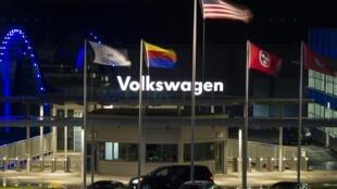 Fábrica de Volkswagen en Chattanooga,Tennessee.