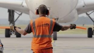 Airbus no aeroporto de Lille, no Norte de Fança ( imagem de ilustração)