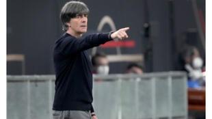 Football - Allemagne - Joachim Low _ match contre la Lettonie - AP Photos