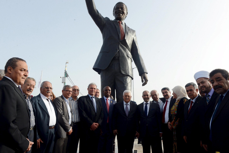 Sanam ya Nelson Mandela nchini Palestina
