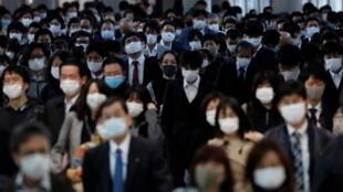 日本东京,品川站,2020年11月13日。