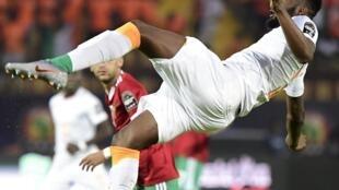 L'Ivoirien Wilfried Kanon lors de la CAN 2019.
