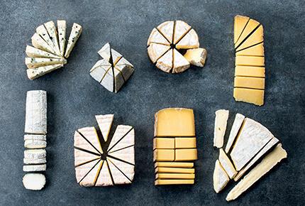 怎麼切奶酪示意圖