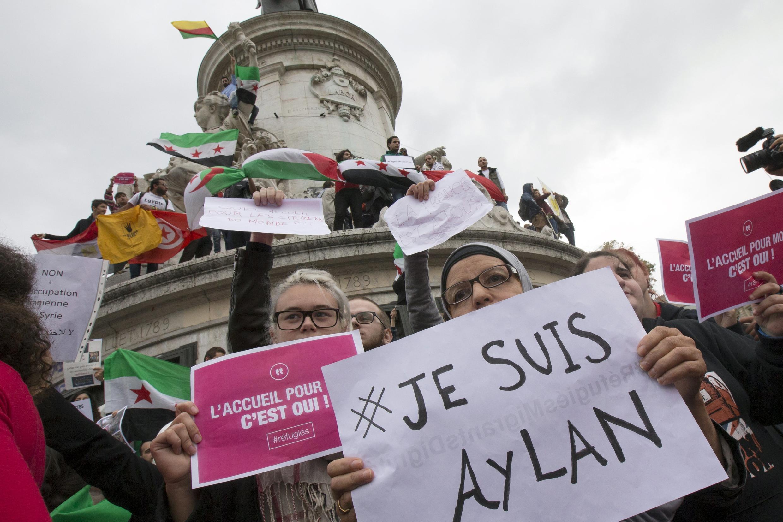 Samedi dernier, le 5 septembre, une manifestation de soutien aux migrants avait déjà eu lieu dans la capitale française.