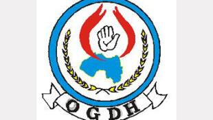 Le logo de l'Organisation guinéenne de défense des droits de l'Homme et du citoyen (OGDH).