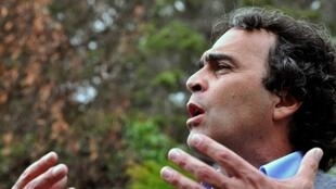 Sergio Fajardo, el 27 de noviembre de 2009, en Popayán, departamento del Cauca, Colombia