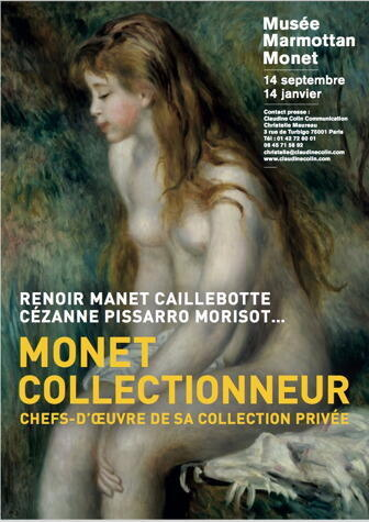 The poster for Monet Collectionneur