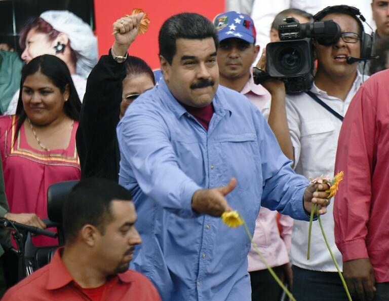 Rais Nicolas Maduro Mei 16, 2016 Caracas.