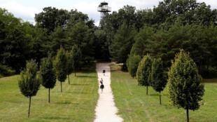 Địa điểm diễn ra Picnic Toàn Âu ở biên giới Áo - Hung giờ là công viên kỷ niệm sự kiẹn lịch sử. Ảnh chụp ngày 16/08/2019.